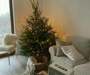 home, christmas, and interior image