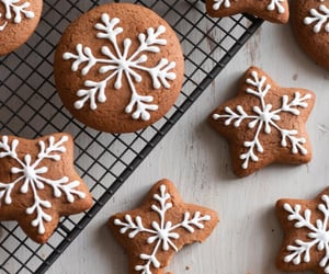 Cookies, food, and winter image