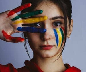art, artist, and palette image