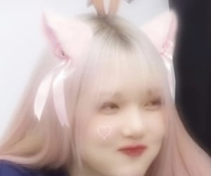 catgirl, edit, and kpop image
