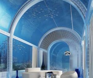 blue, ocean, and underwater image