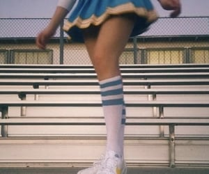 aesthetic, cheerleader, and vintage image