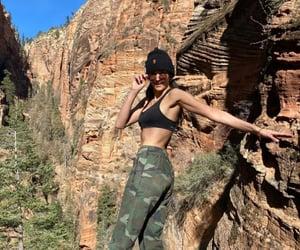 hiking, nina, and Nina Dobrev image