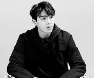 black and white, idols, and kpop image