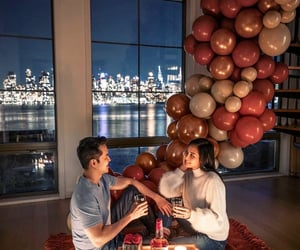 balloons, boys, and chill image