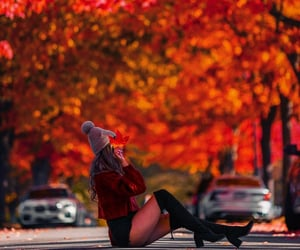 autumn, beauty, and boots image