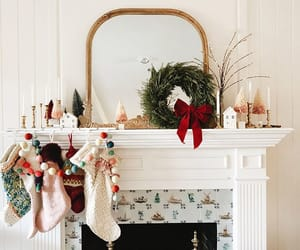 christmas, december, and home image