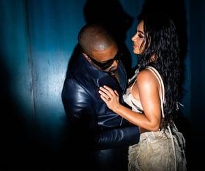 after party, kanye west, and kim kardashian image