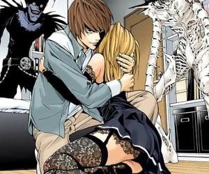 death note, manga, and anime image