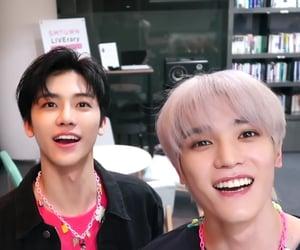 lee taeyong, nct, and na jaemin image