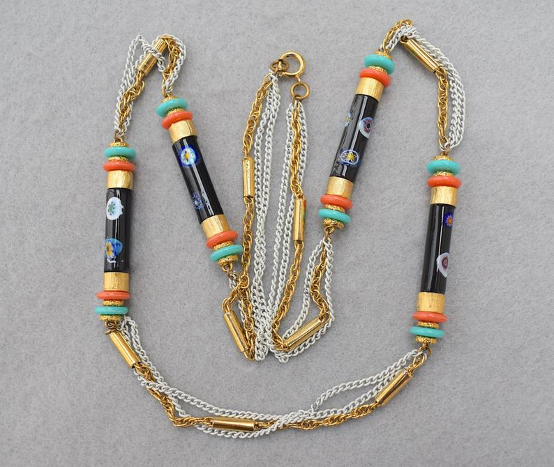 long necklace, women teen girls, and etsy image