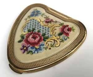 etsy, made in england, and vintage compact image