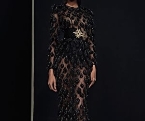 blackdress, Couture, and gorgeous image