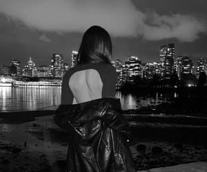 black and white, canada, and cool image