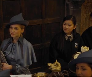 goblet of fire, cho chang, and gabrielle delacour image
