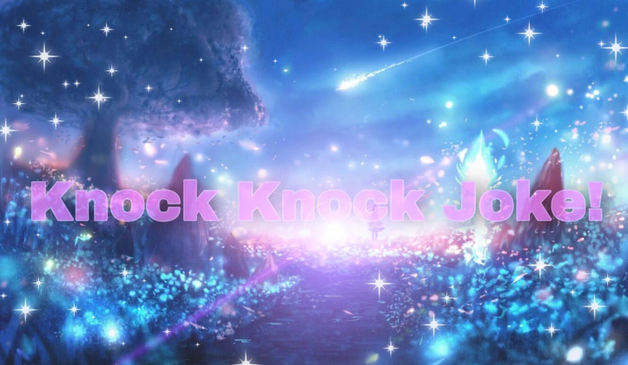 article and knock knock~ image