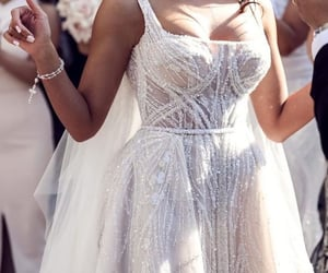 bride, fairytale, and fashion image