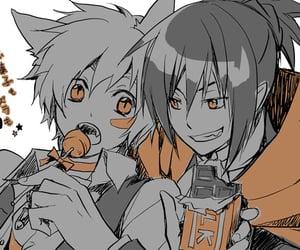 no.6 and anime halloween image