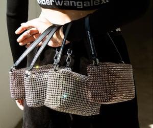 alexander wang and purse image