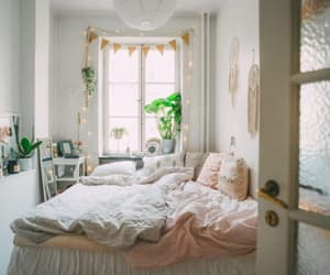 artsy, bed, and boho image