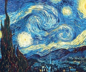 art, van gogh, and article image