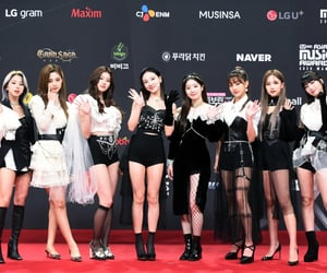 kpop, twice, and red carpet image