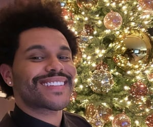 the weeknd, christmas, and smile image