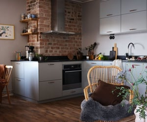 apartment, kitchen, and nordic image
