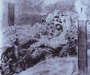 art, artist, and demon image