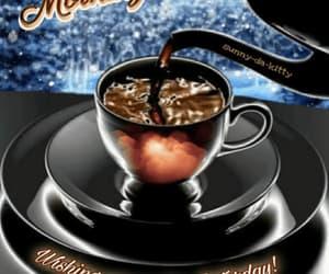 coffee, gif, and saturday image
