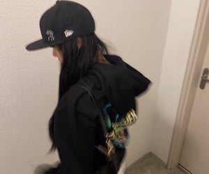 cap, cyber, and fashion image