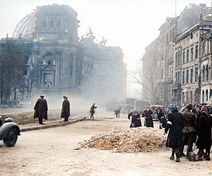 1945, beautiful, and reichstag image