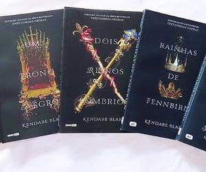 book, books, and three dark crowns image