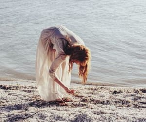blue, florence welch, and ocean image