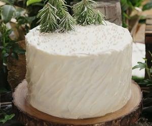 cake, christmas, and december image