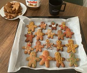bake, christmas, and cookie image