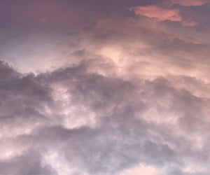 aesthetic, clouds, and pink sky image