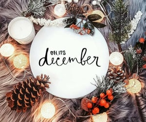 december, holiday, and christmas image