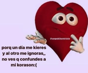 amor, frases, and quiero image