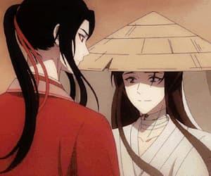 gif, hualian, and anime image