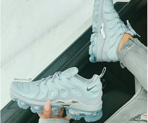blue, shoes, and vapormax image