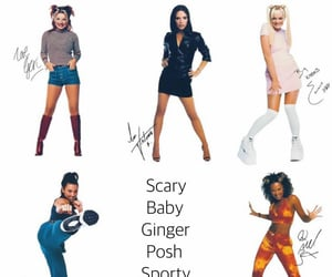 90s, girl group, and posh spice image