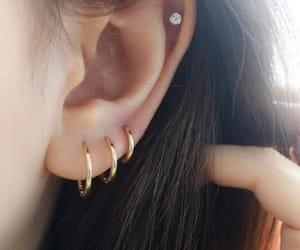 earrings, hoops, and huggies image