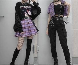 fashion, skirts, and black fashion image