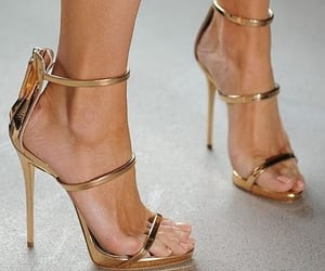 golden, rich, and shoes image