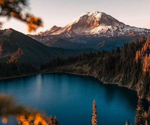 lake, landscape, and vertical image