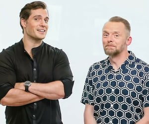 fallout, Henry Cavill, and Simon Pegg image