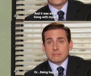 happiness, television, and the office image