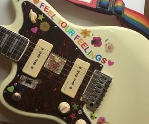 guitar, aesthetic, and stickers image
