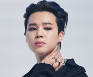 on, bts, and jimin image